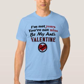 No su camiseta anti de la tarjeta del día de San Remera