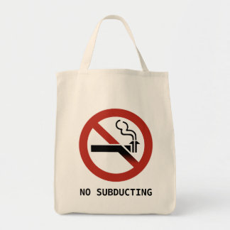 No Subducting Logo Bag