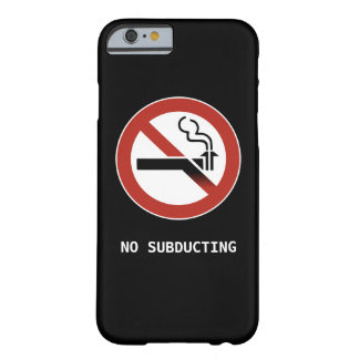 No Subducting Logo Barely There iPhone 6 Case