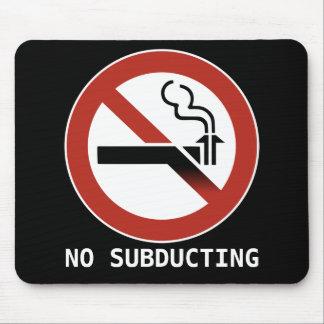 No Subducting Logo Mousepad