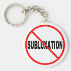 No Subluxation Keychain