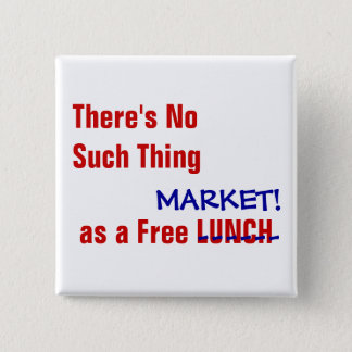 """No Such Thing"" Anti-Capitalist  BUTTON"
