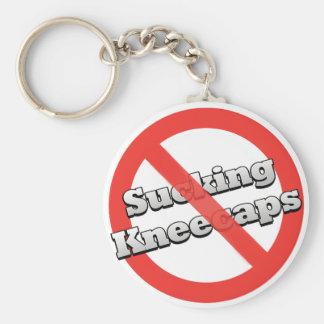 No Sucking Kneecaps Keychain