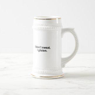 No sudo, yo reluzco camiseta tazas de café