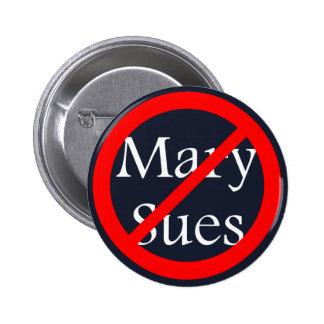 No Sues Allowed 2 Inch Round Button