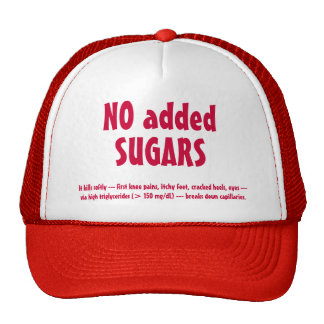 NO SUGARS hat, #1 Trucker Hat