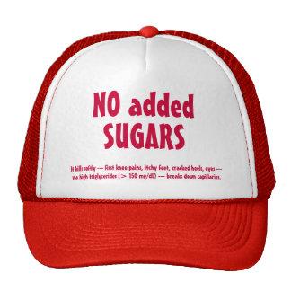 NO SUGARS hat, #1 Trucker Hat