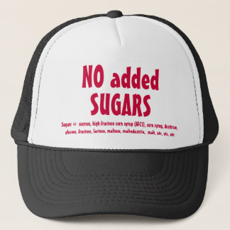NO SUGARS hat, ver.2 Trucker Hat