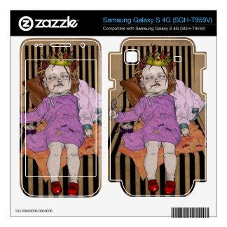 No suicide girl samsung galaxy s 4G skins
