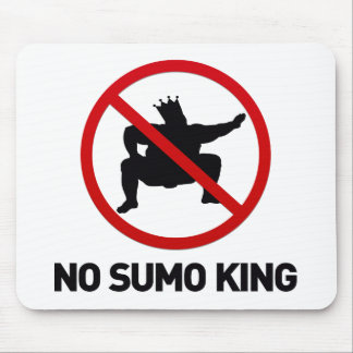 No Sumo King Mouse Pads