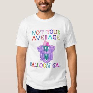 No sus osos medios de la flor de globo del galón camisas