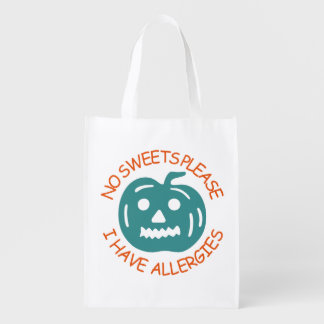 No Sweets Please Halloween Treat Bag
