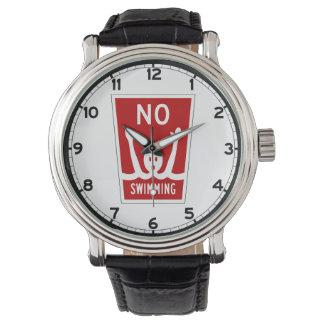 No Swimming, Sign, Florida, US Watches
