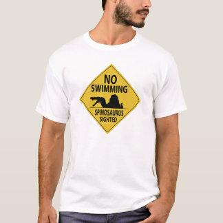 No Swimming – Spinosaurus Sighted T-Shirt