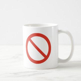 No Symbol Mugs