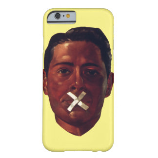 No Talking Barely There iPhone 6 Case