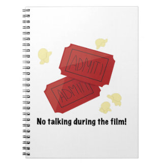 No Talking Note Books
