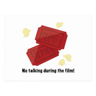 No Talking Post Cards