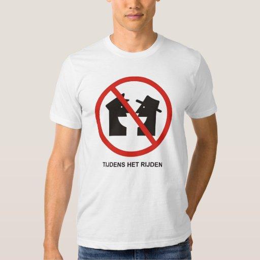 No Talking! T-shirts