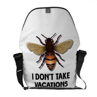 No tardo las vacaciones (la abeja) bolsa messenger