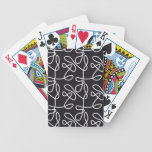 No Target Black Bicycle Poker Cards