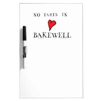 no tarts in bakewell, tony fernandes Dry-Erase board