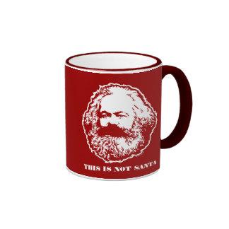 No taza de Santa