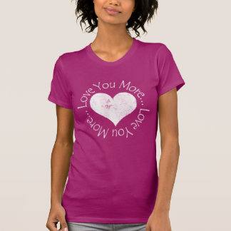 No, te amo más camisetas