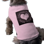 No, te amo más ropa para mascota