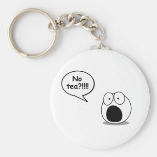 No Tea Key Chain