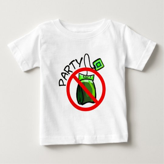 No Tea Party Anti Tea Party Baby T-Shirt