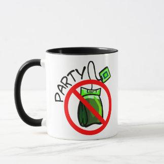 No Tea Party Anti Tea Party Mug