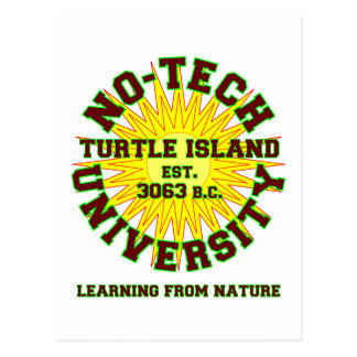 No-Tech University Post Card
