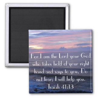 No tema el imán del 41 13 de Isaías del verso de l