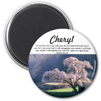 No tema la flor de cerezo del productos múltipl imanes para frigoríficos
