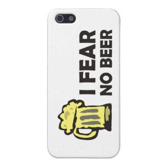 No temo ninguna cerveza, taza que hace espuma iPhone 5 carcasa