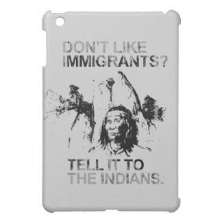 No tenga gusto de los inmigrantes, lo dicen a los