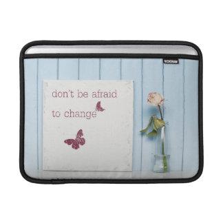 No tenga miedo de cambiar funda macbook air