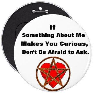 No tenga miedo de pedir el botón pagano