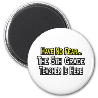 No tenga ningún miedo, el 5to profesor del grado e iman para frigorífico