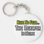 No tenga ningún miedo, el agente inmobiliario está llavero