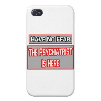 No tenga ningún miedo. El psiquiatra está aquí iPhone 4/4S Carcasas