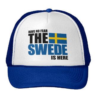No tenga ningún miedo, el sueco está aquí gorro