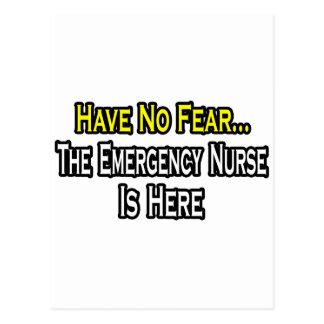 No tenga ningún miedo, la enfermera de la emergenc postales