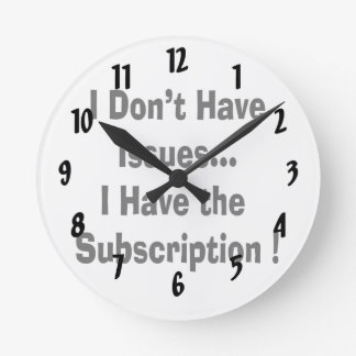 no tenga problemas tener bk de la suscripción dive reloj de pared