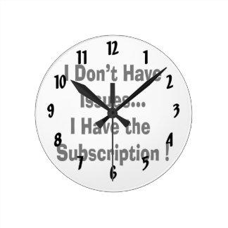 no tenga problemas tener bk de la suscripción dive reloj redondo mediano