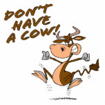 no tenga un dibujo animado chistoso de la vaca de  escultura fotografica