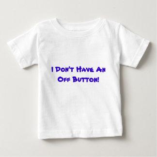 ¡No tengo apagado un botón! - Camiseta infantil