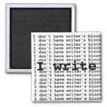 No tengo bloque del escritor… imanes