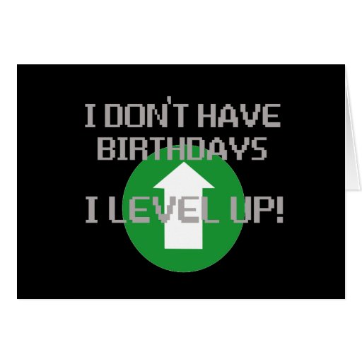 No tengo cumpleaños… tarjetas